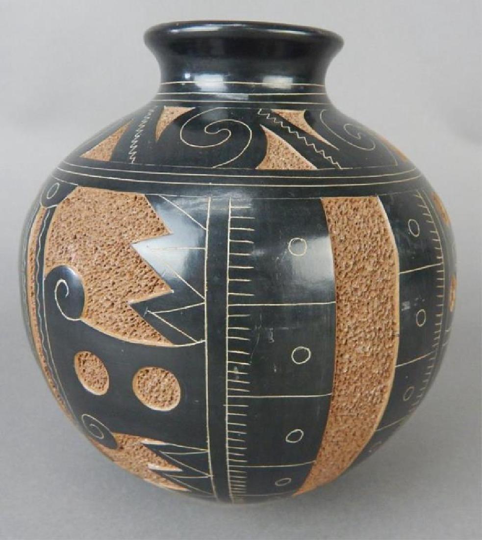 Nicaraguan Art Pottery Vase
