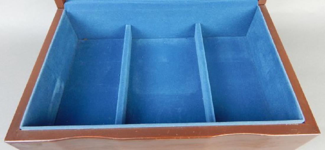 Blue Lined Jewelry Box - 2