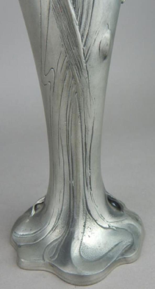 Art Nouveau Style Lady Face Vase - 3