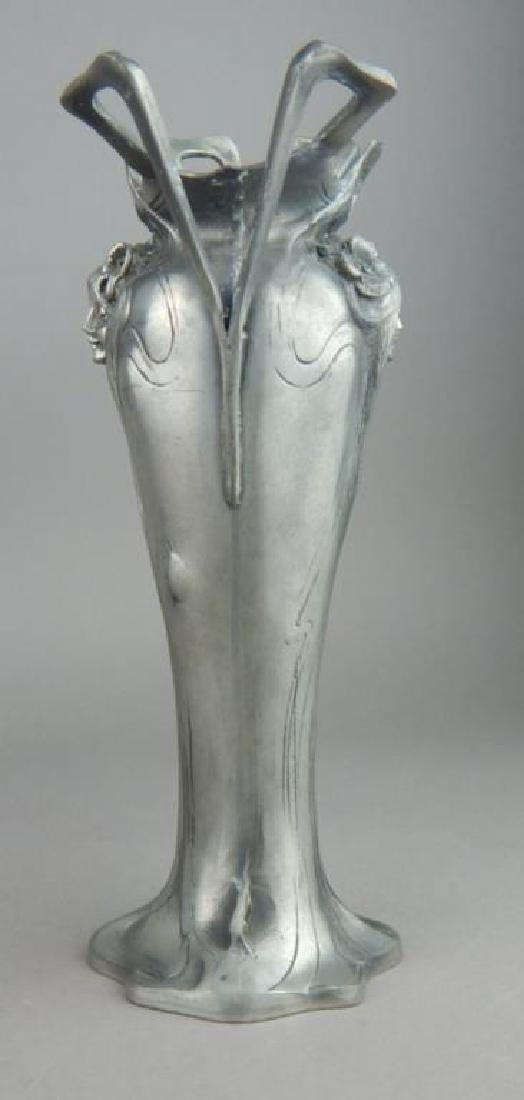 Art Nouveau Style Lady Face Vase - 4