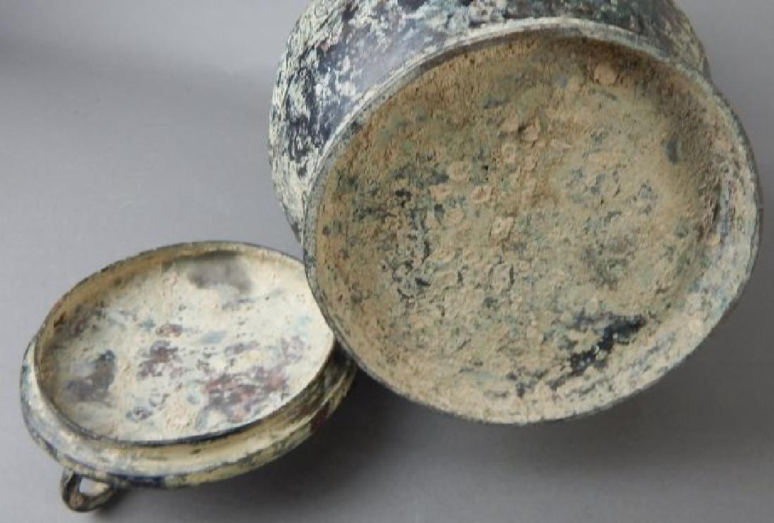 Bronze Covered Pot - 5