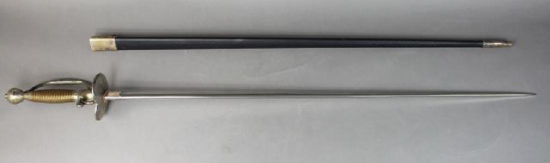 Unusual Triangle Shaped Ceremonial Sword - 6