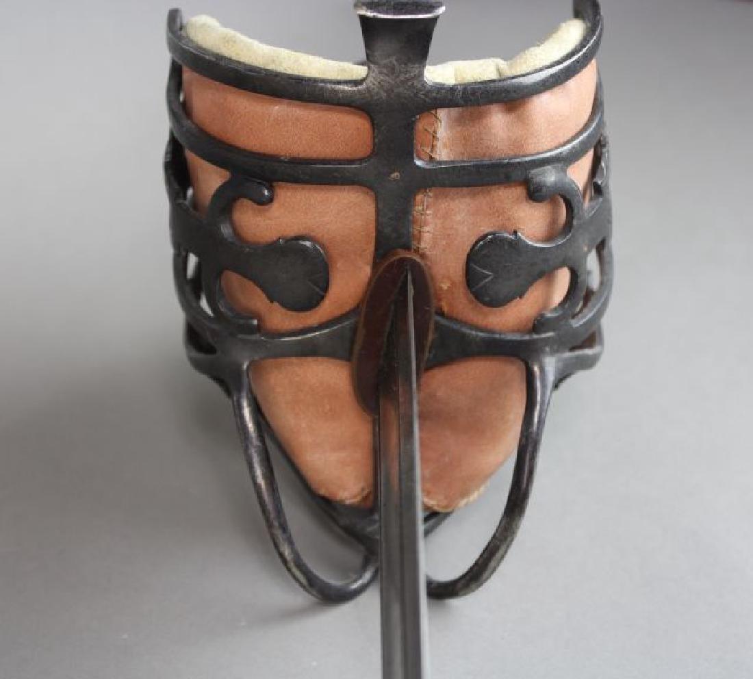 Andrea Ferara Sword with Leather Scabbard - 5