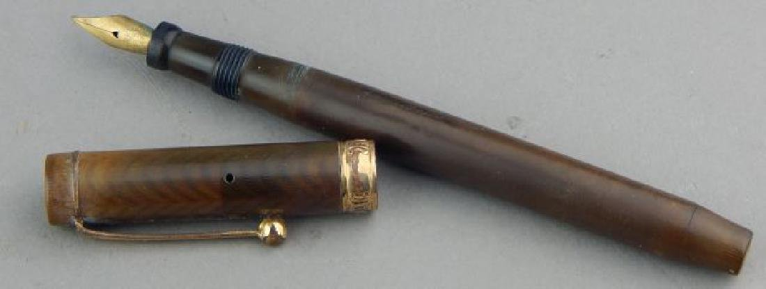 Parker Lucky Curve Gold Band Ink Pen - 3
