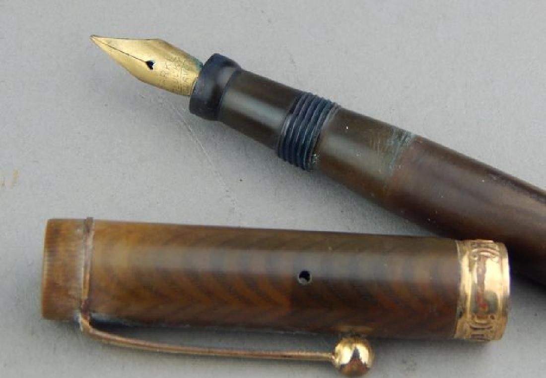 Parker Lucky Curve Gold Band Ink Pen - 4