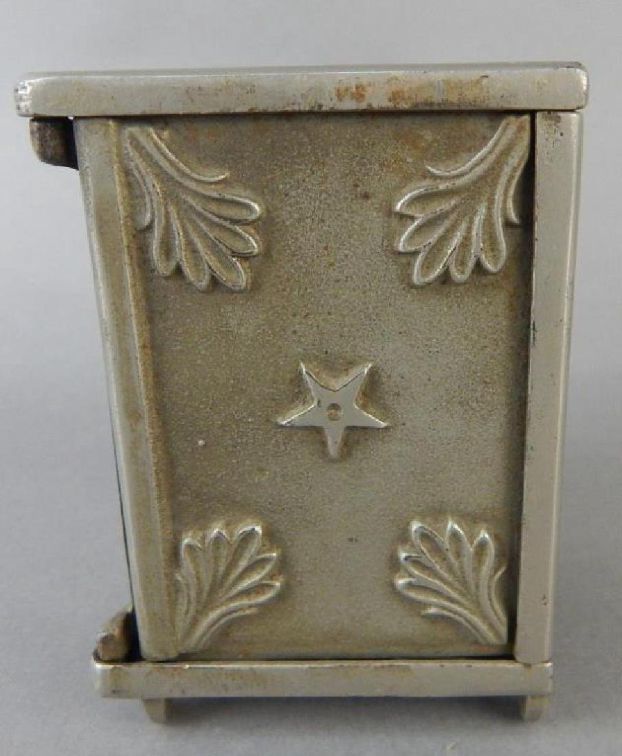 Moon and Stars Cast Iron Bank - 2