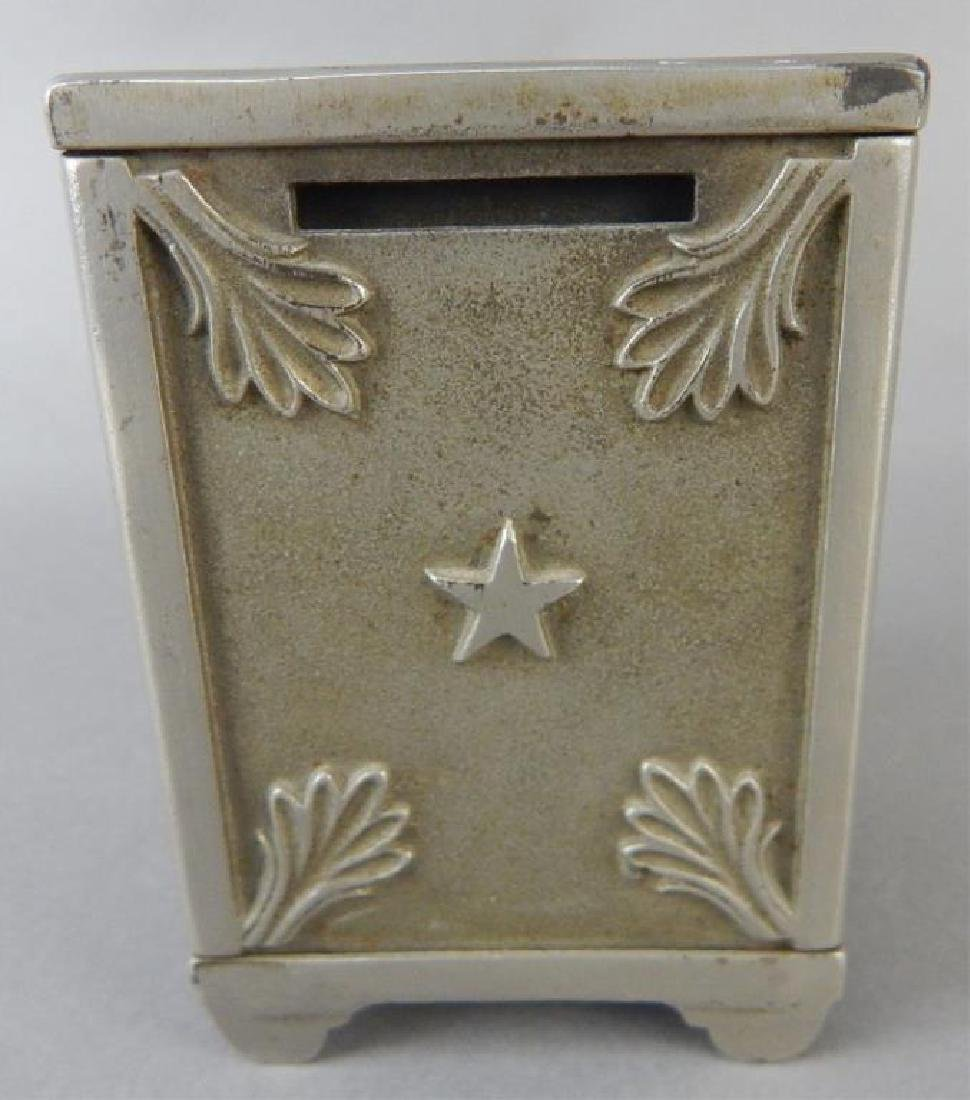 Moon and Stars Cast Iron Bank - 3