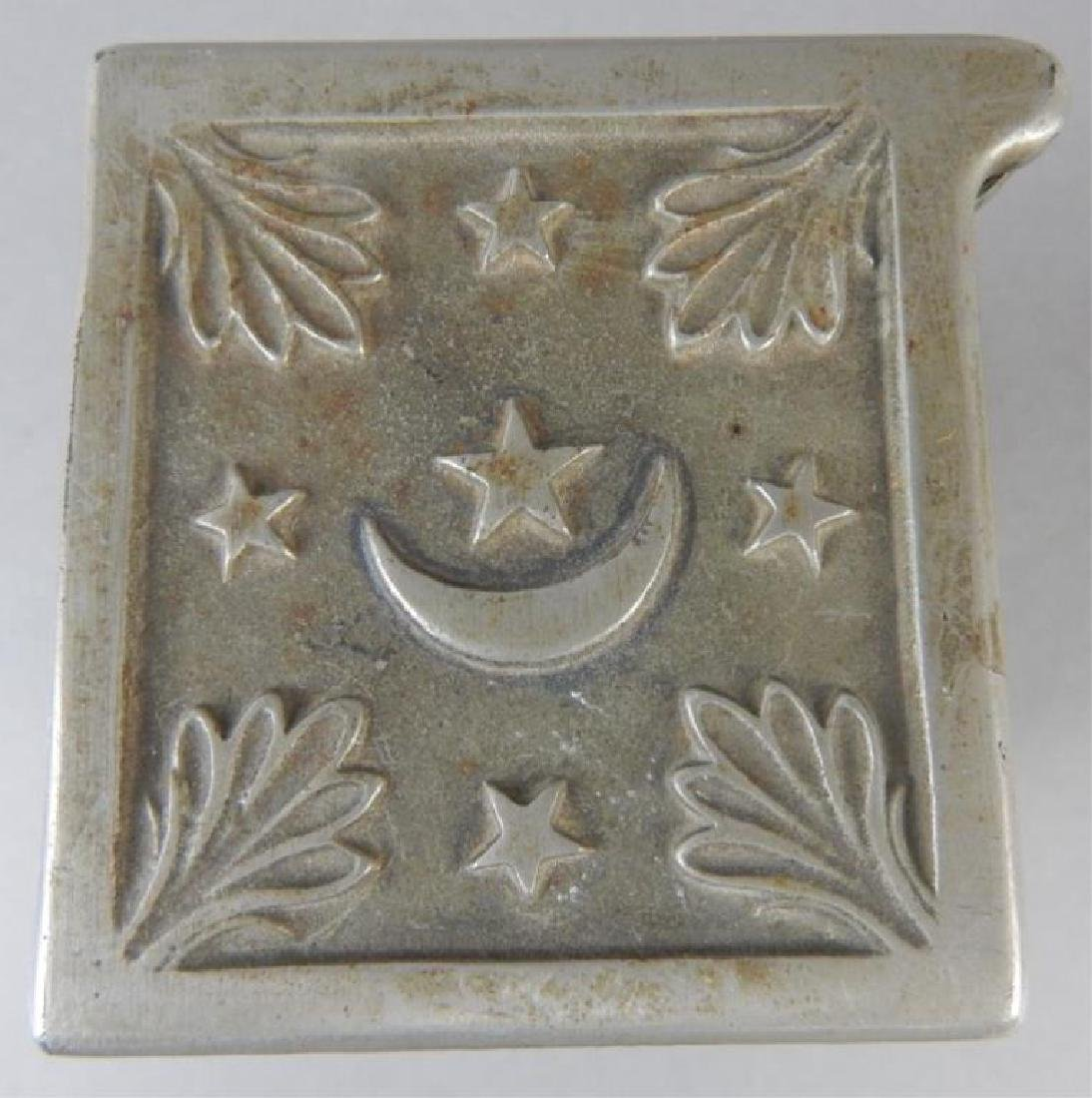 Moon and Stars Cast Iron Bank - 4