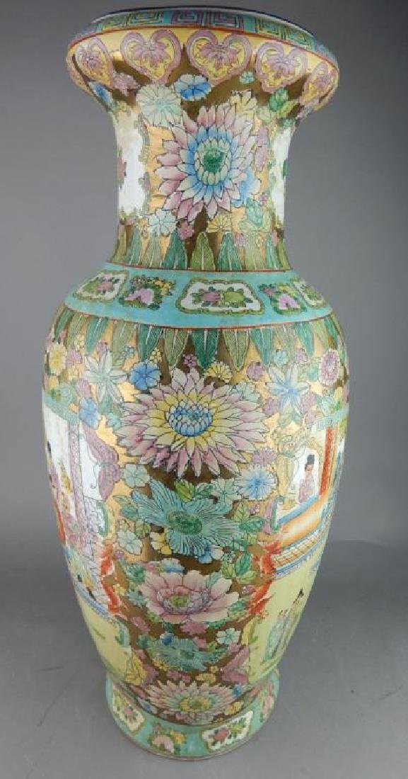 Large Famile Rose Vase - 2