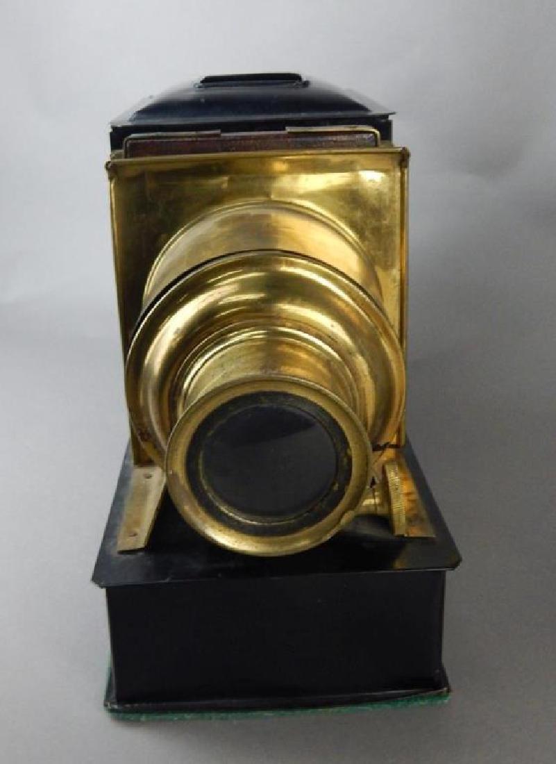 Magic Lantern W/ Colored Glass Slides - 4