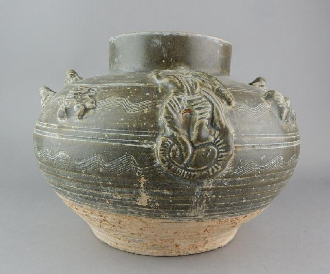 Chinese Clay Bowl - 2