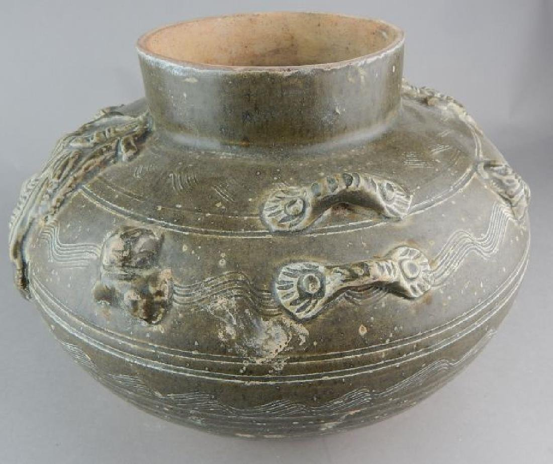 Chinese Clay Bowl - 4
