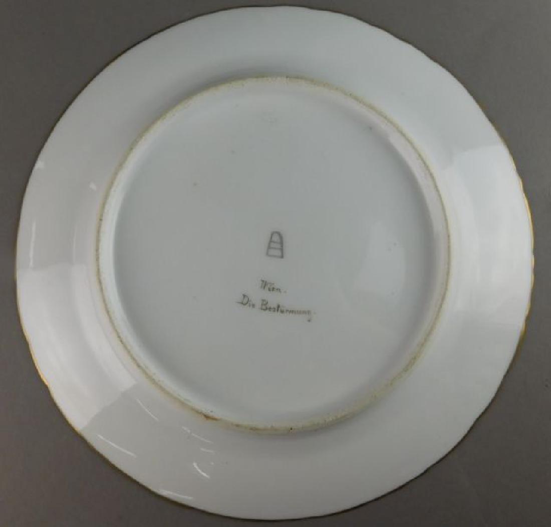 19th Century Royal Vienna Plate - 4