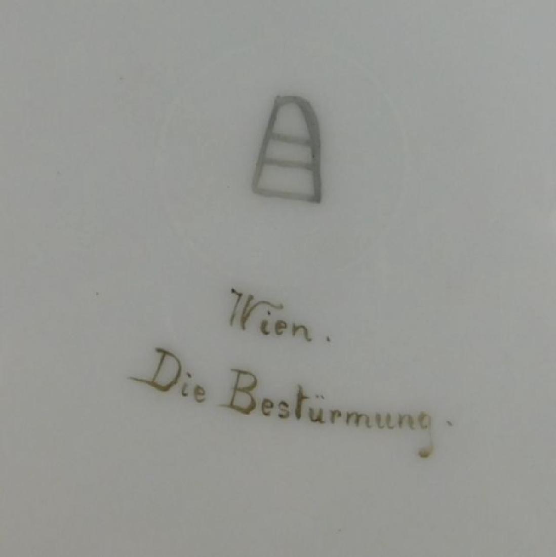 19th Century Royal Vienna Plate - 5