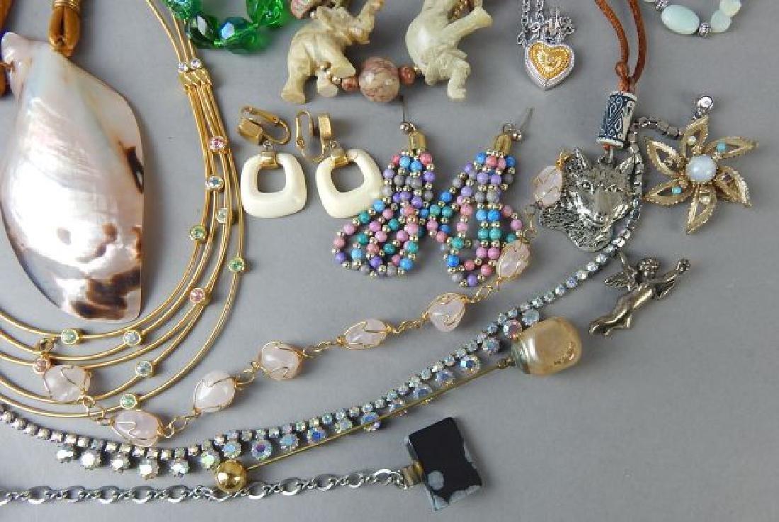 Assortment of 1950's - 1980's Jewelry - 2