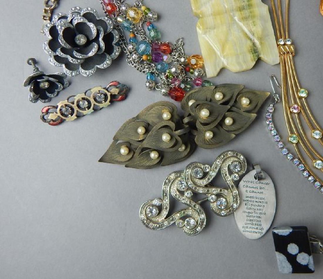 Assortment of 1950's - 1980's Jewelry - 3