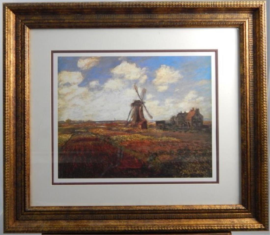 """(372) Claude Monet """" Windmill"""""""