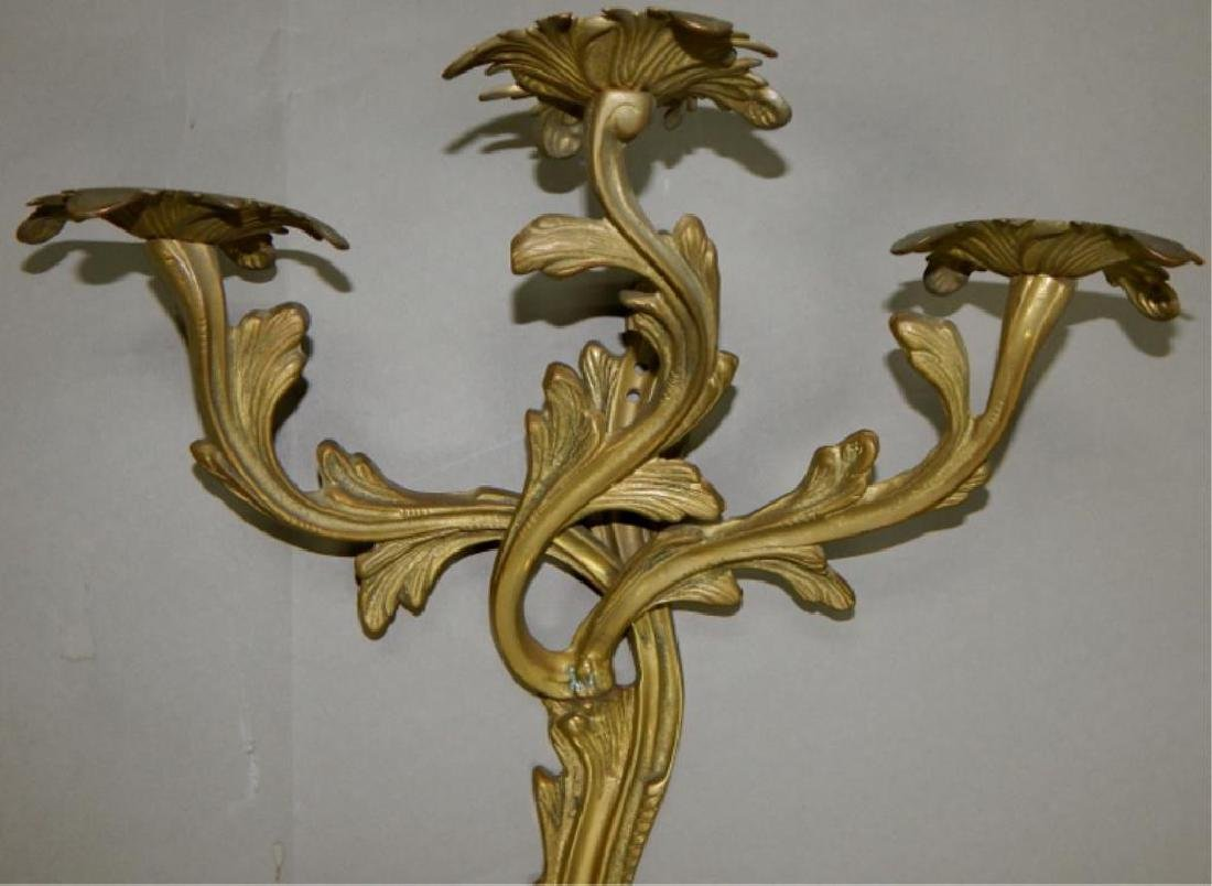 Pair of Empire Style Louis XIV Wall Sconce - 2