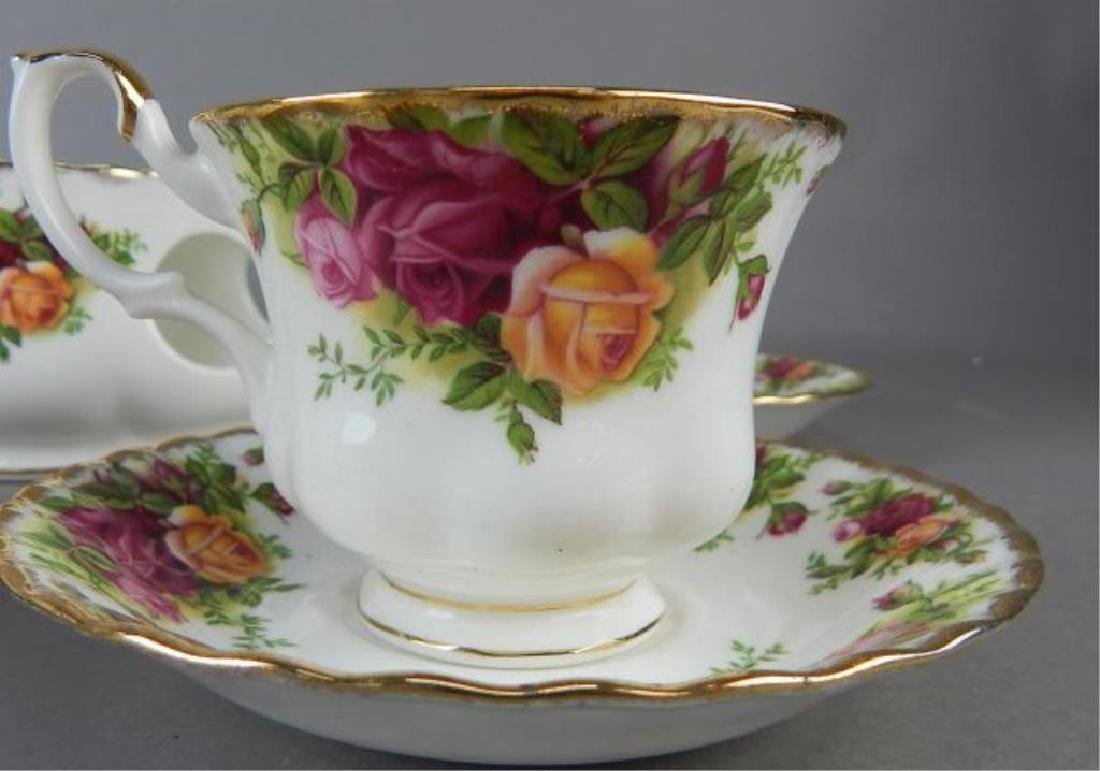 Royal Albert Nine Piece Tea Set