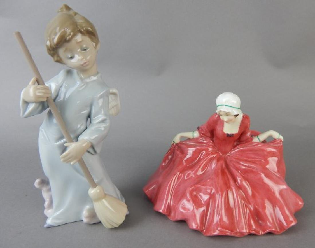 Lladro and Royal Doulton Figurines