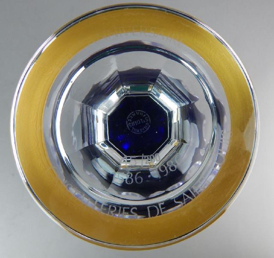Saint Louis France Crystal Vase - 4
