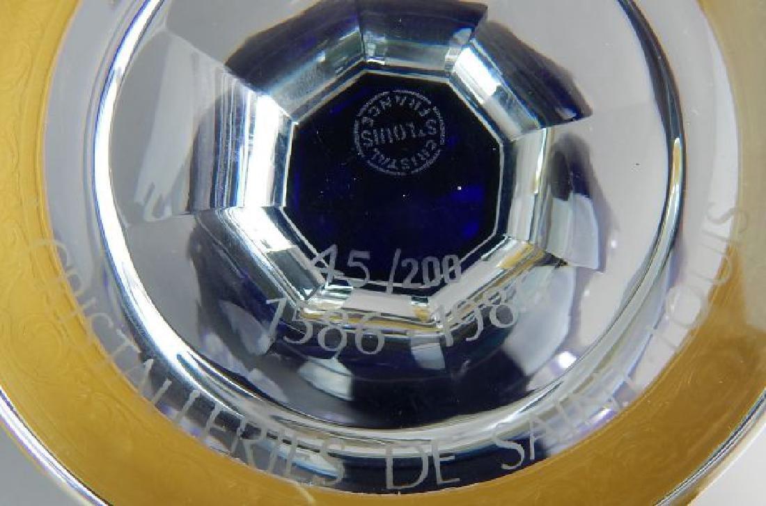 Saint Louis France Crystal Vase - 6