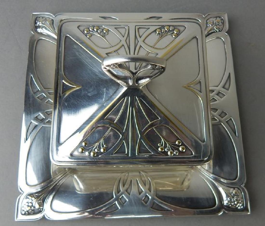 Art Deco English Butter Dish - 2