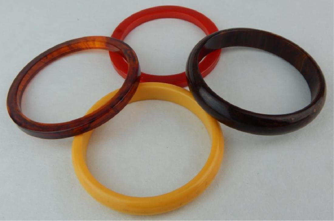 Vintage Bakelite Bracelets - 2