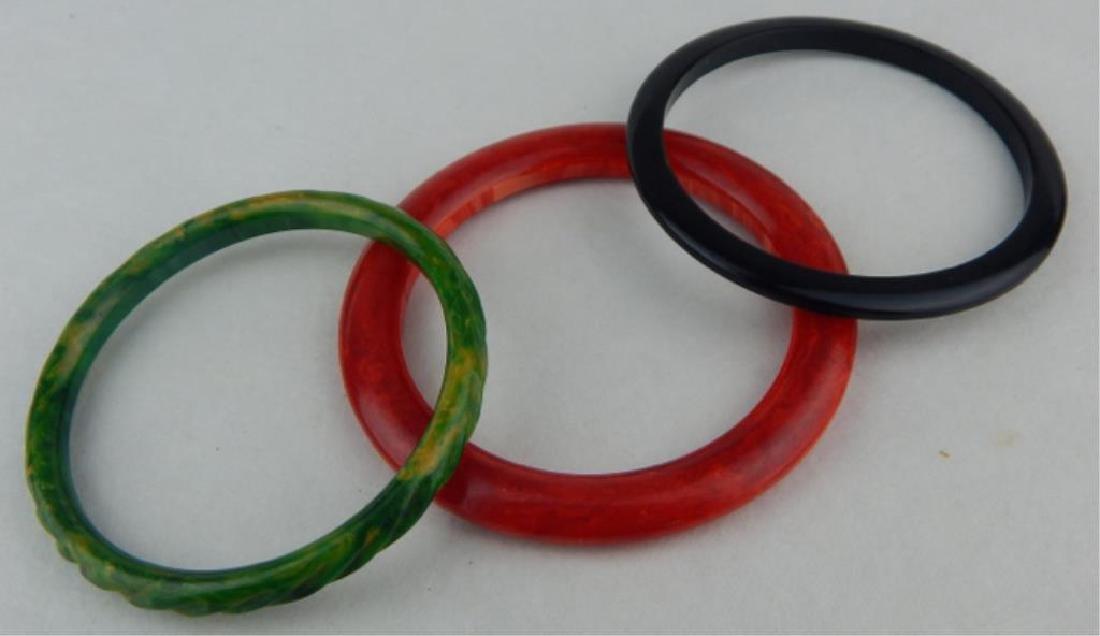 Vintage Bakelite Bracelets - 4