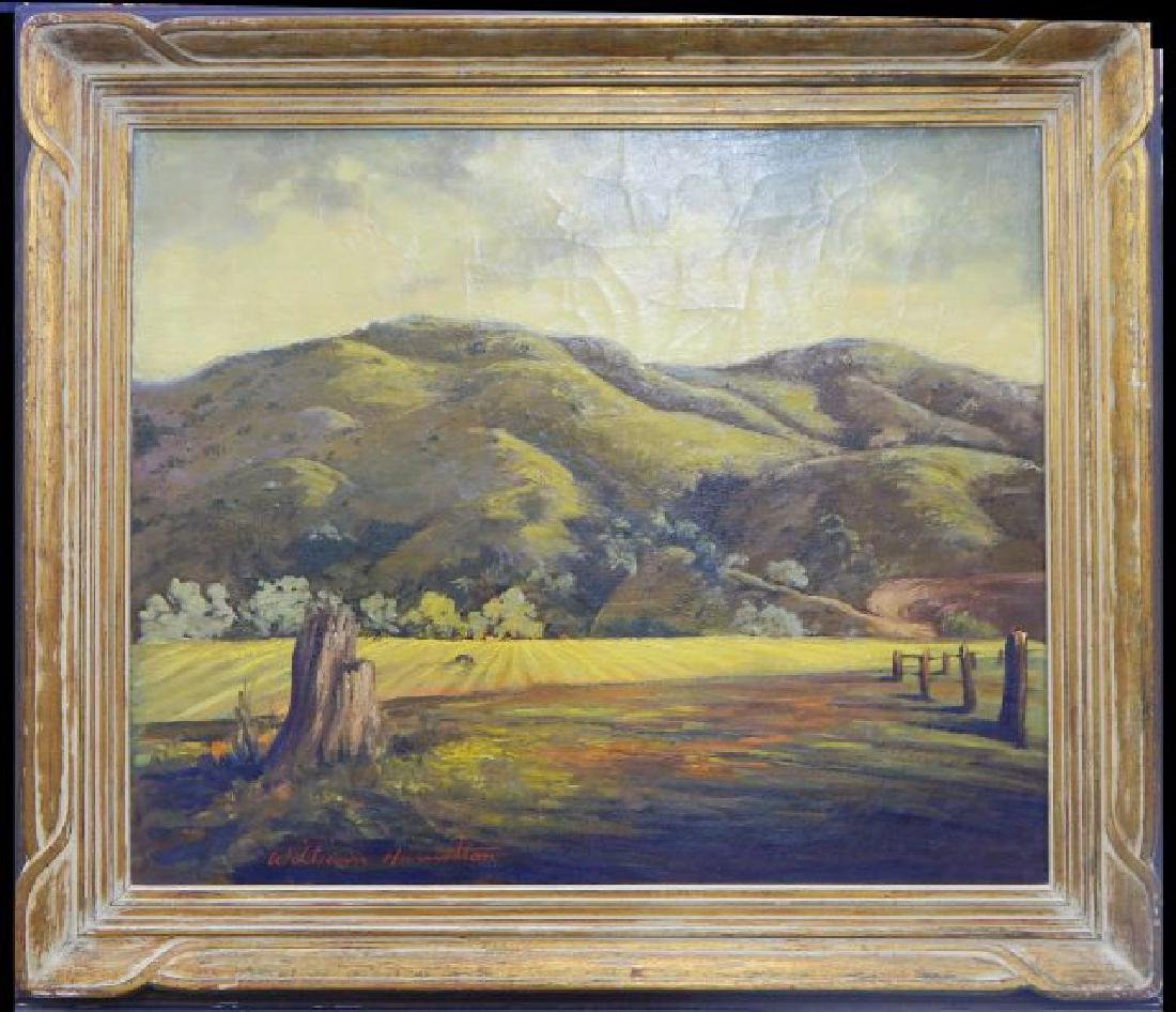William Hamilton (1901-1984) Oil on Canvas
