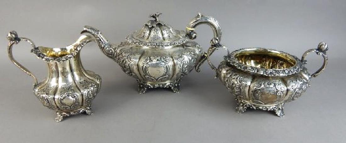 English Sterling Silver Tea Set