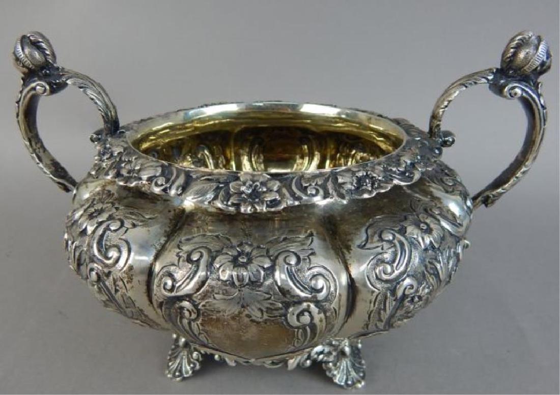 English Sterling Silver Tea Set - 5