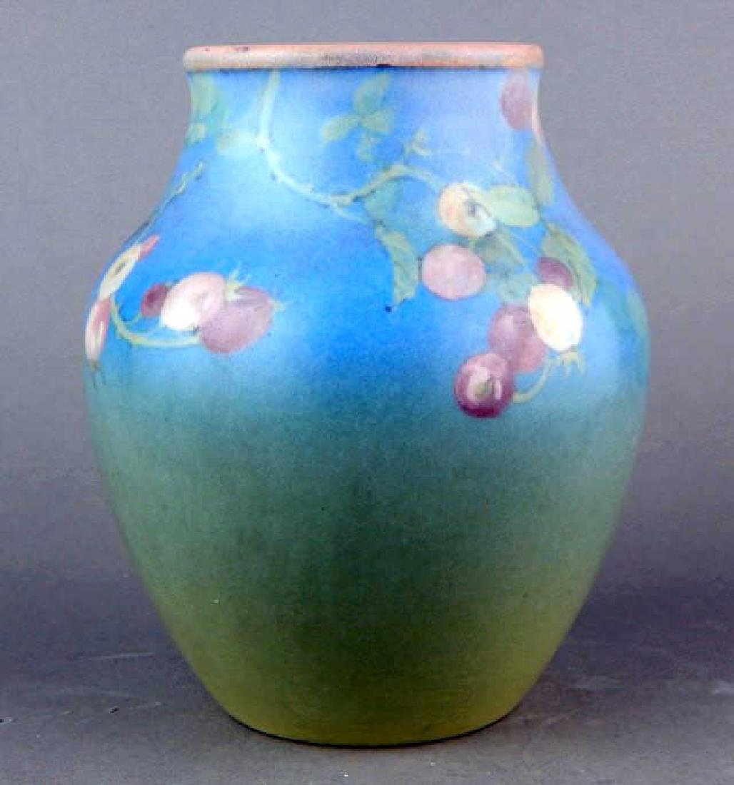 Signed Rookwood 1928 Pottery Vase - 2
