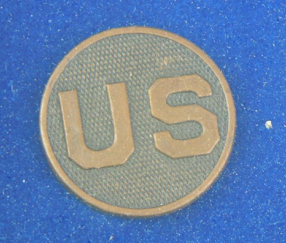 Civil War Daguerreotypes, Medals & Badges in Frame - 6