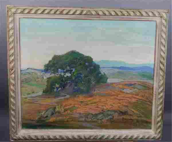 """""""Louise Leyden"""" Signed Landscape"""