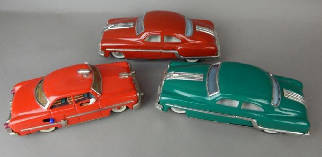 Three Tin Automobiles - 2