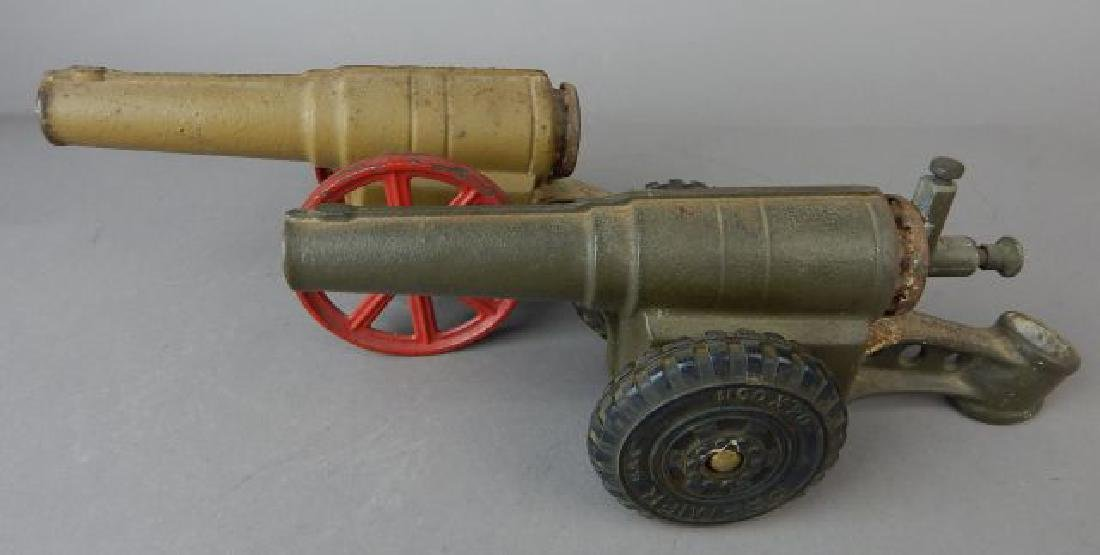 Two Cast Iron Cannons