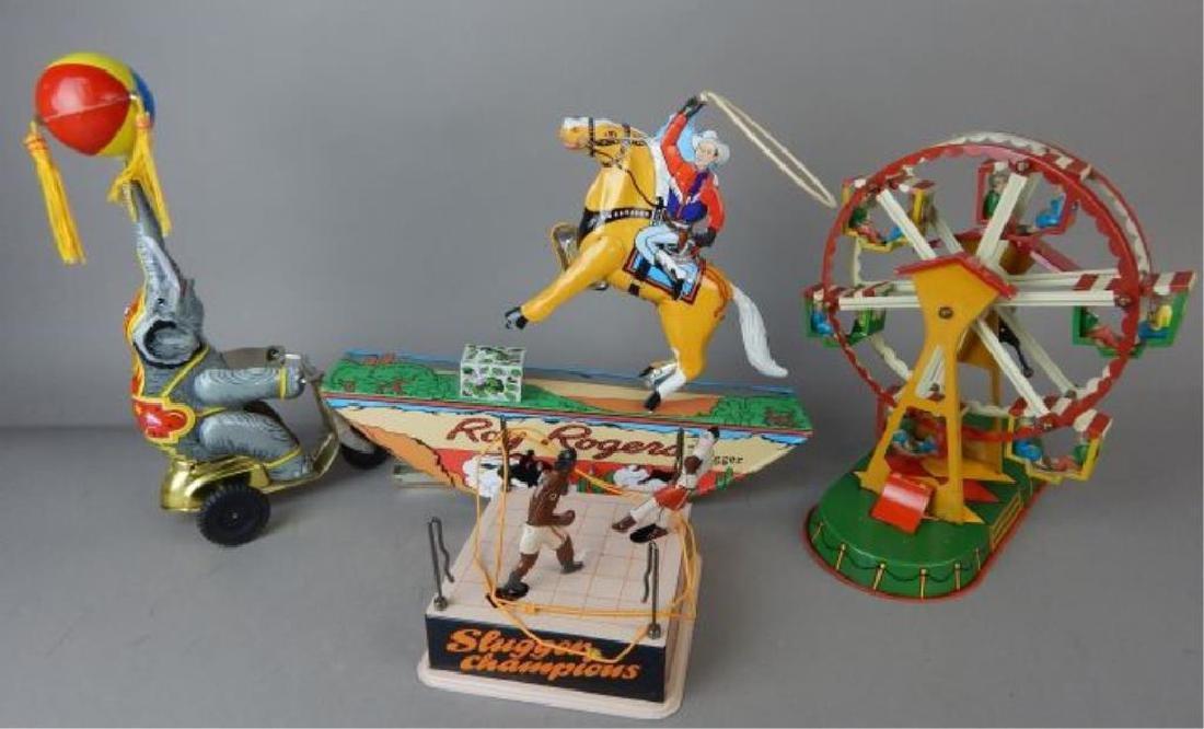 Roy Rogers, Elephant, Ferris Wheel, Slugger Toys