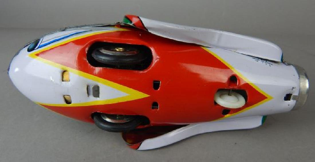 Harley Davidson, Rocket Racer & Sidecar Tin Toys - 6