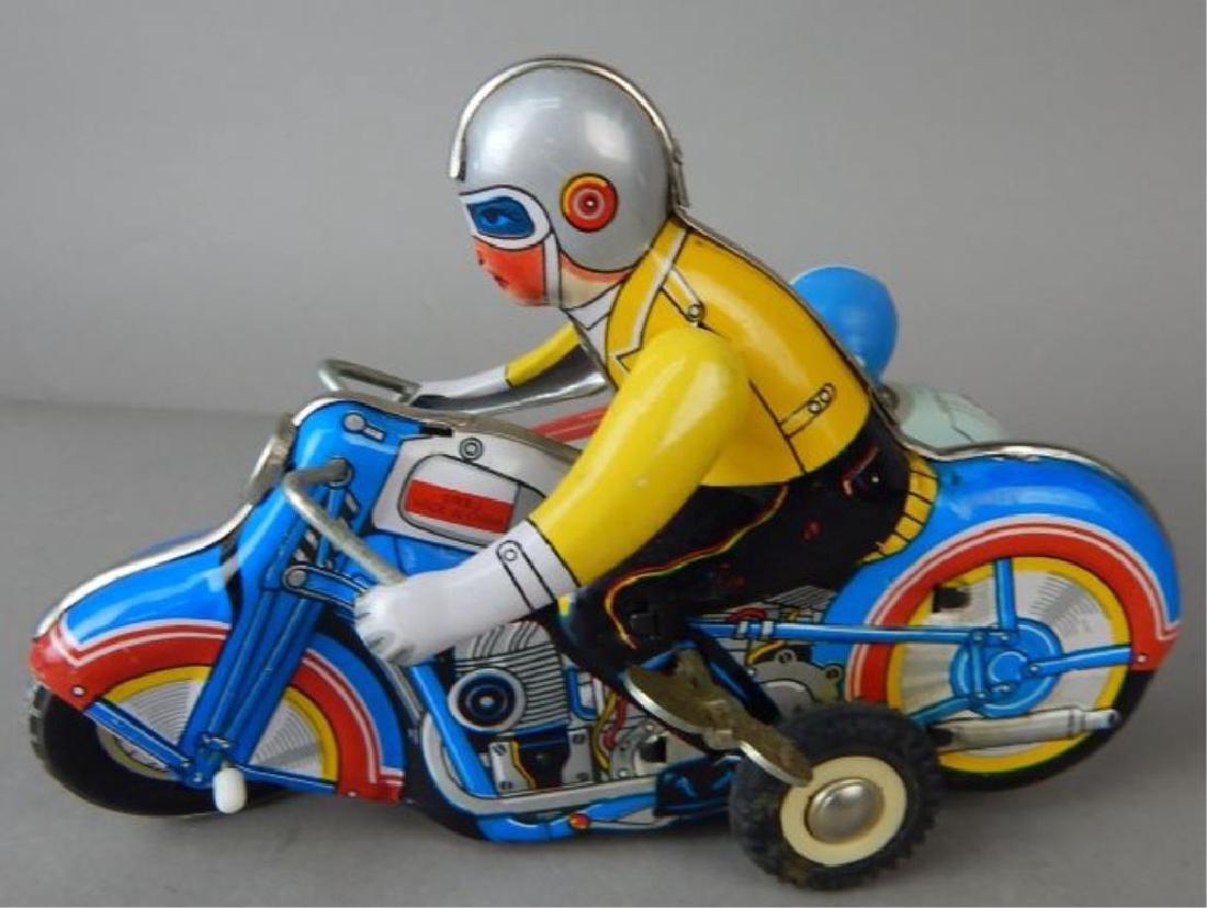 Harley Davidson, Rocket Racer & Sidecar Tin Toys - 8