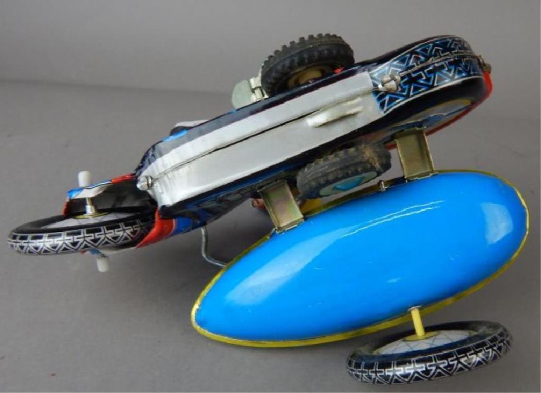 Harley Davidson, Rocket Racer & Sidecar Tin Toys - 9