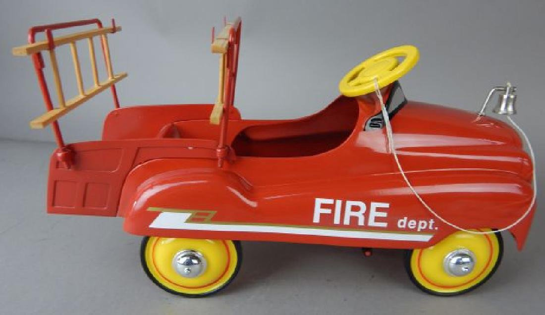 Xonex Stamped Steel Fire Truck