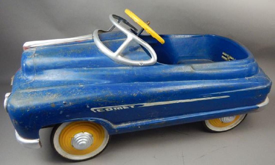 Blue Comet V 12 Super Drive Pedal Car