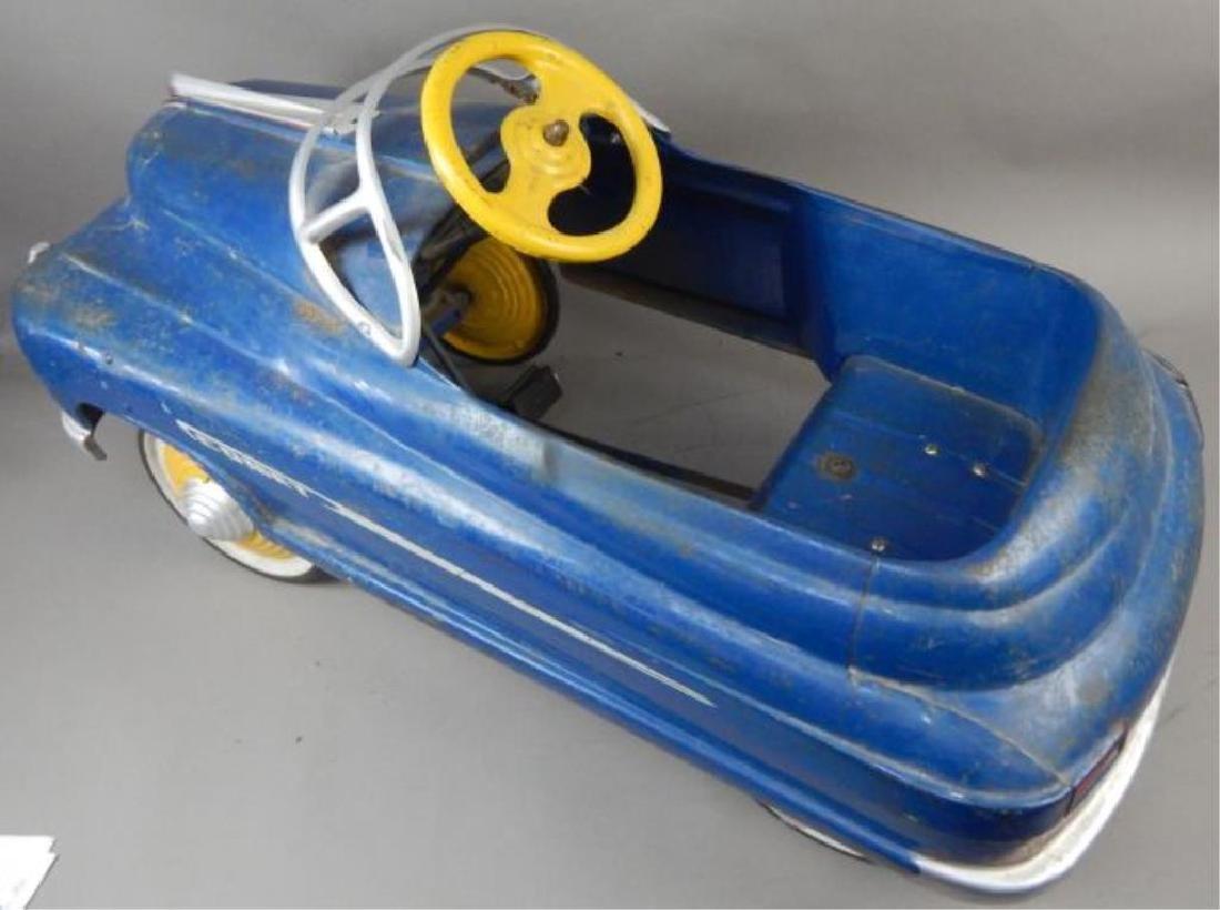Blue Comet V 12 Super Drive Pedal Car - 4