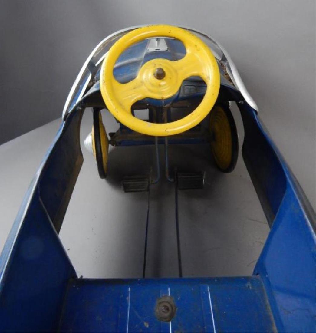 Blue Comet V 12 Super Drive Pedal Car - 5