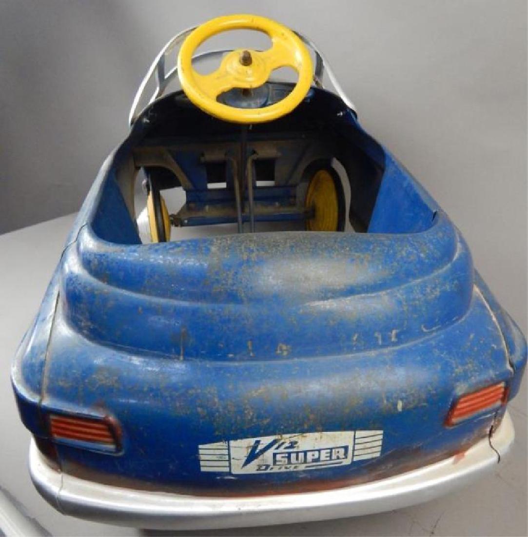 Blue Comet V 12 Super Drive Pedal Car - 6