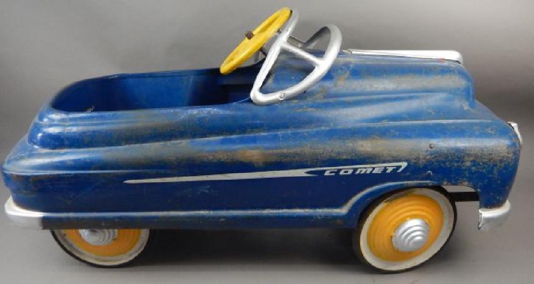 Blue Comet V 12 Super Drive Pedal Car - 7
