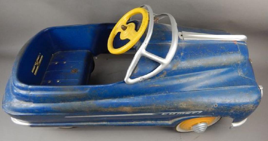Blue Comet V 12 Super Drive Pedal Car - 8
