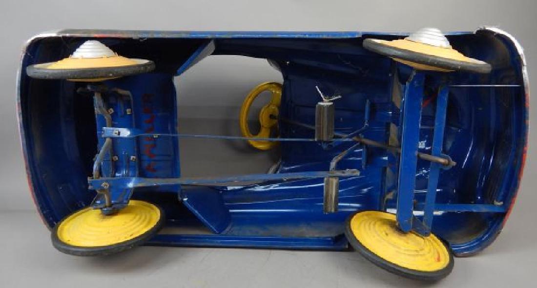 Blue Comet V 12 Super Drive Pedal Car - 9