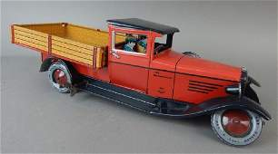 German Litho Tin Truck
